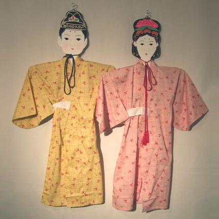 木 製 松本七夕人形